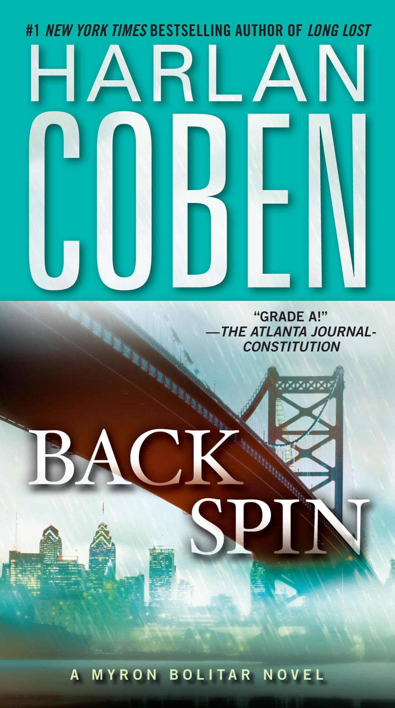Book cover of Backspin