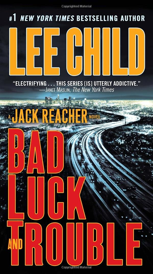 Book cover of Bad Luck and Trouble