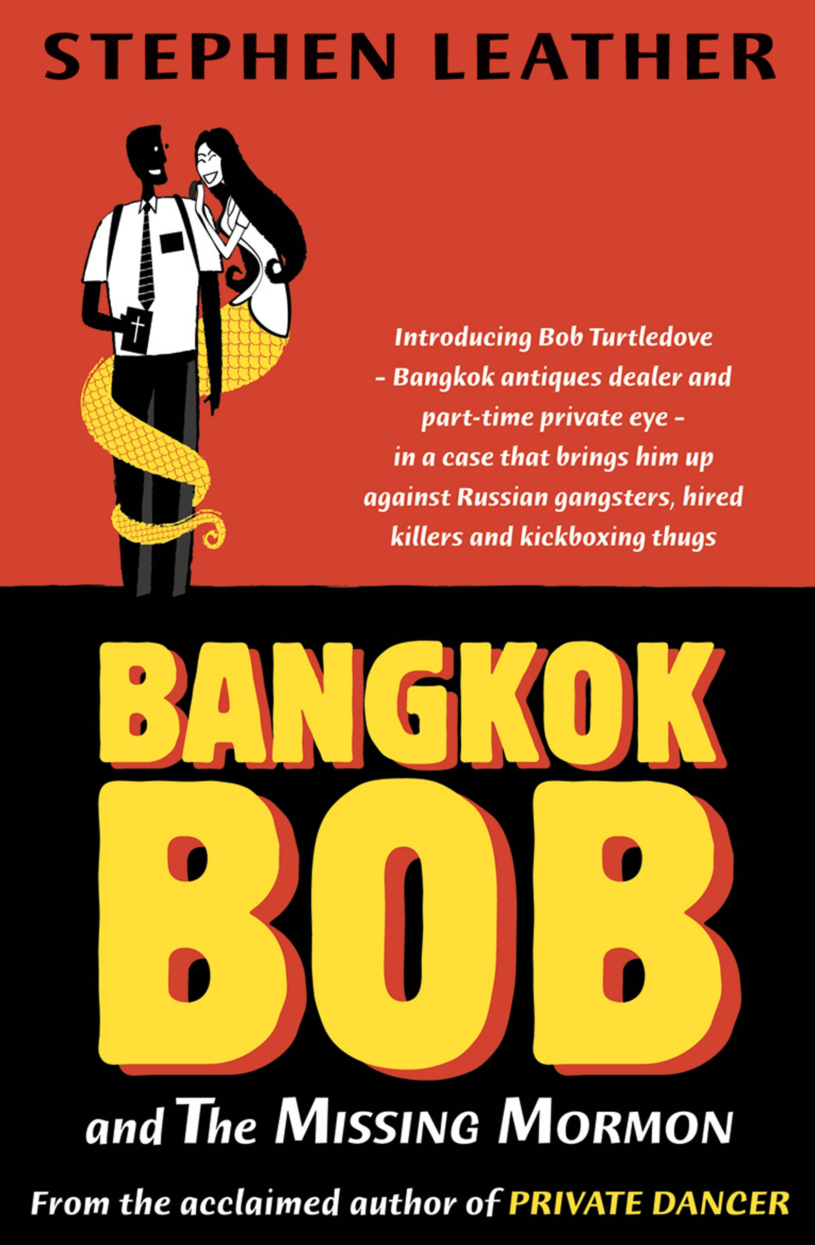 Book Cover of Bangkok Bob and the Missing Mormon