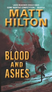 Book cover of Blood and Ashes