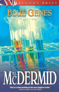 Book cover of Blue Genes