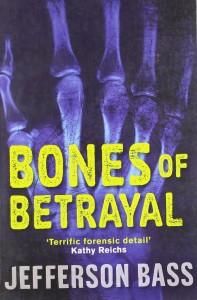 Book cover of Bones Of Betrayal