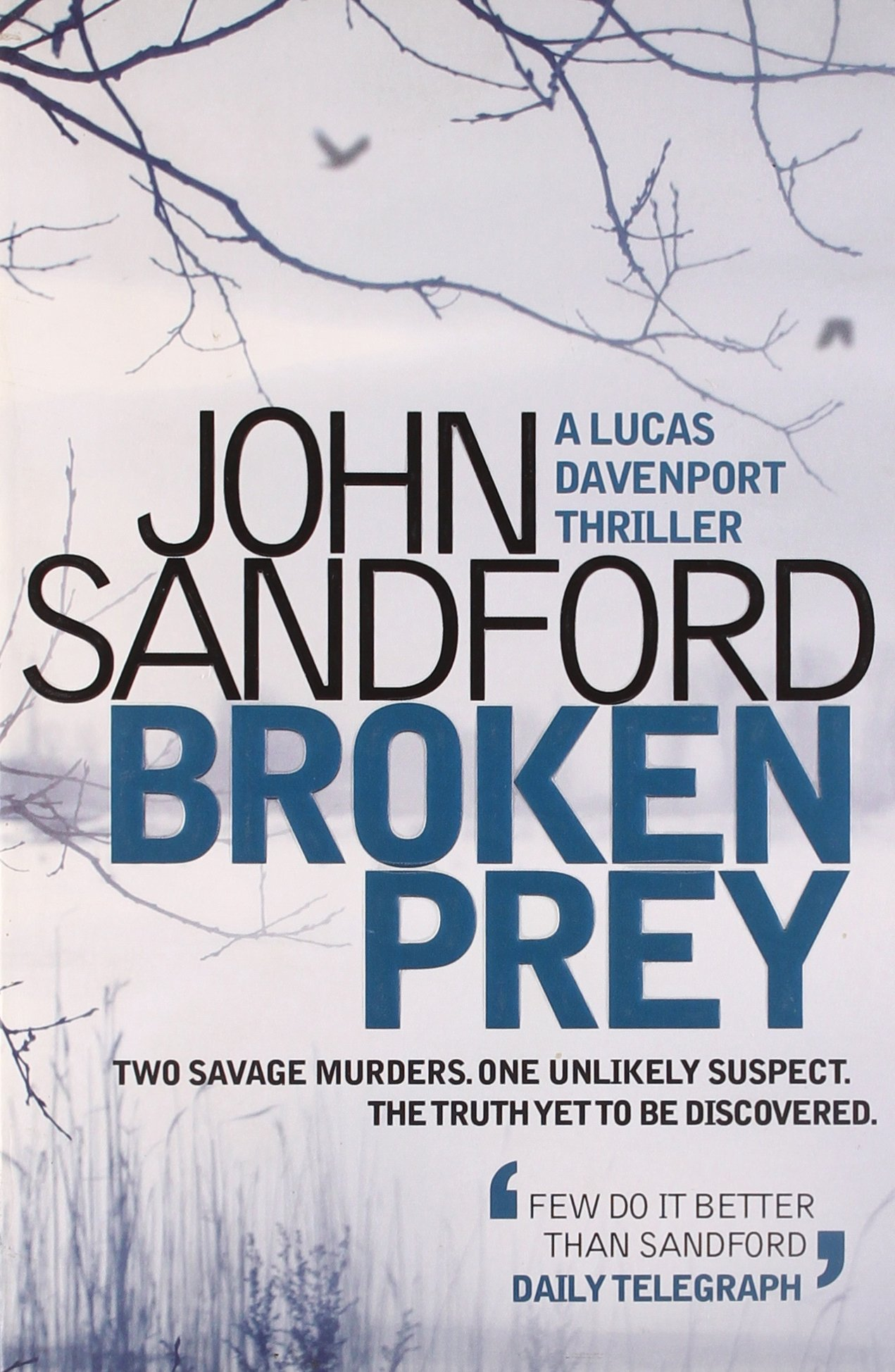 Book Cover of Broken Prey