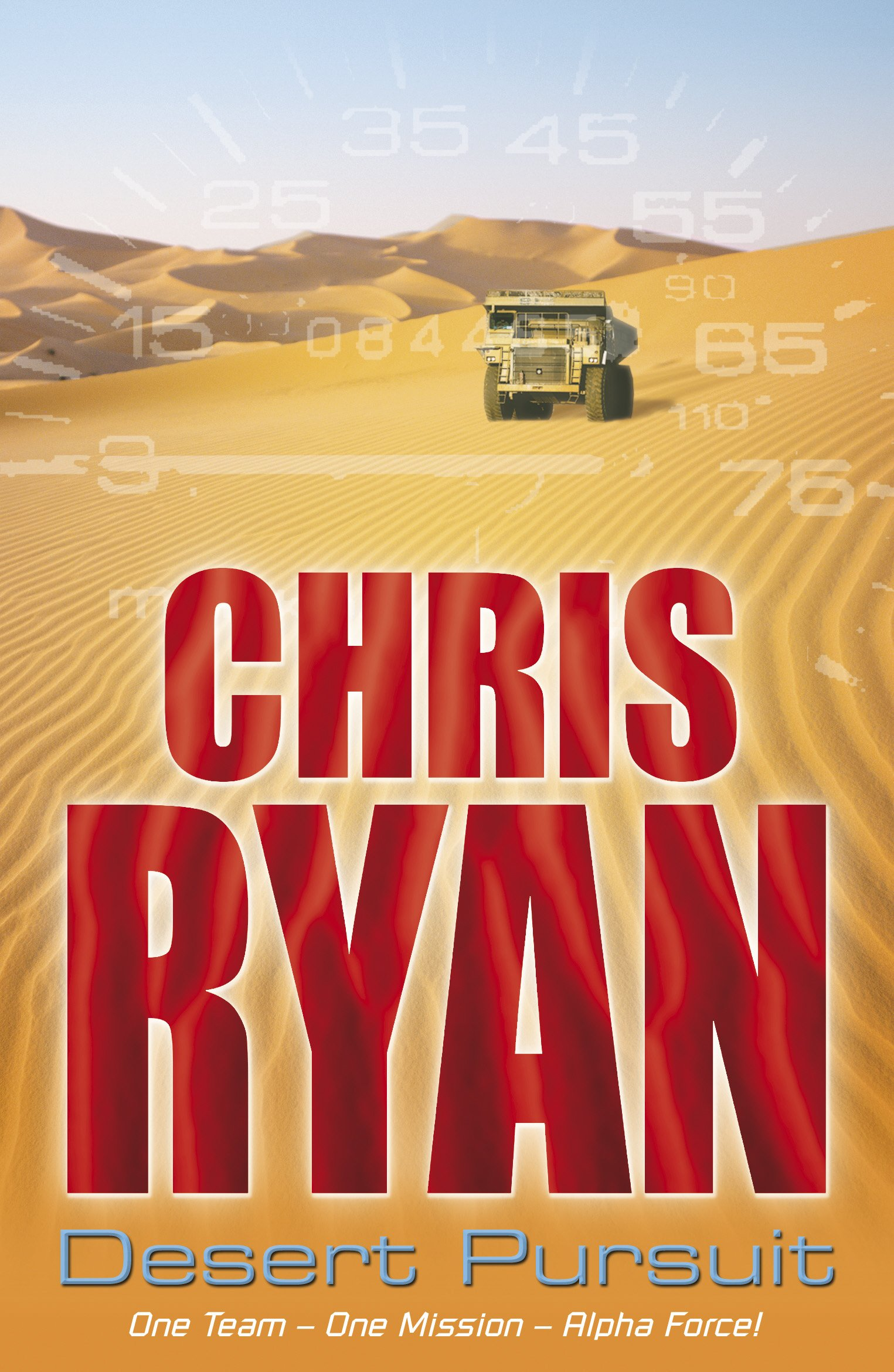 Book cover of Desert Pursuit