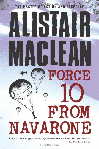 Book Cover of Force Ten from Navarone