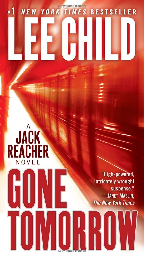 Book cover of Gone Tomorrow