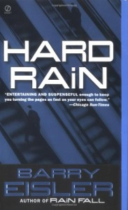 Book cover of Hard Rain (Blood From Blood and A Lonely Resurrection)