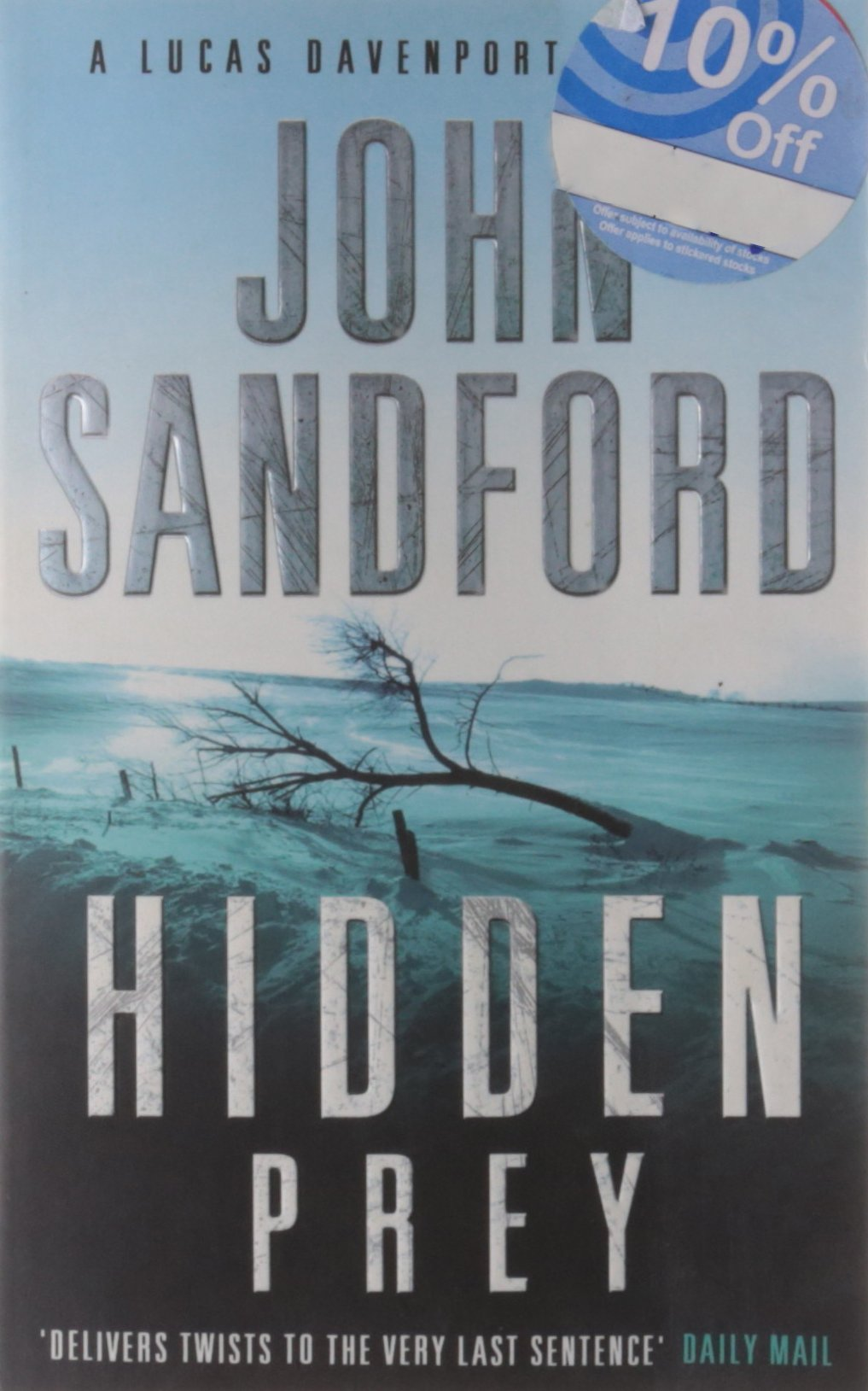 Book Cover of Hidden Prey