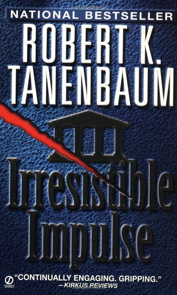 Book cover of Irresistible Impulse