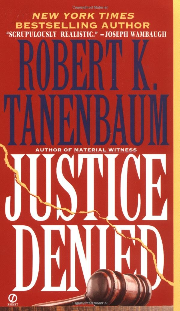 Book cover of Justice Denied