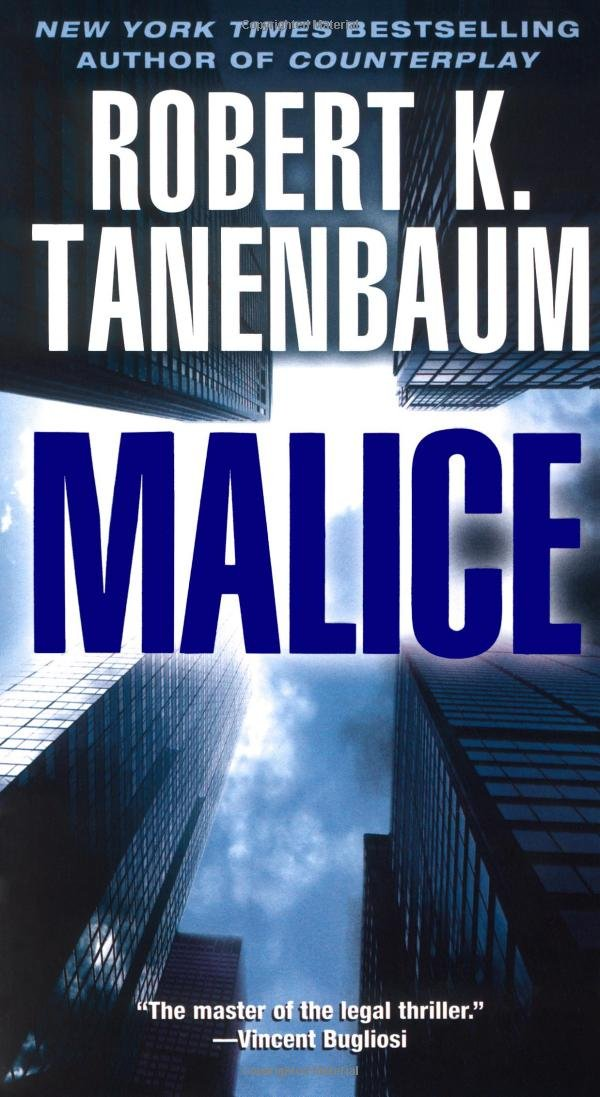 Book cover of Malice