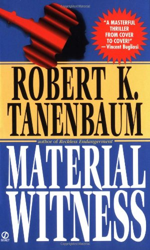 Book cover of Material Witness