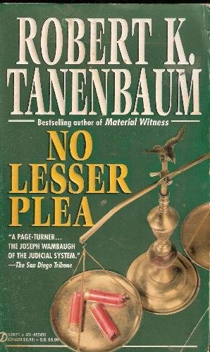 Book cover of No Lesser Plea