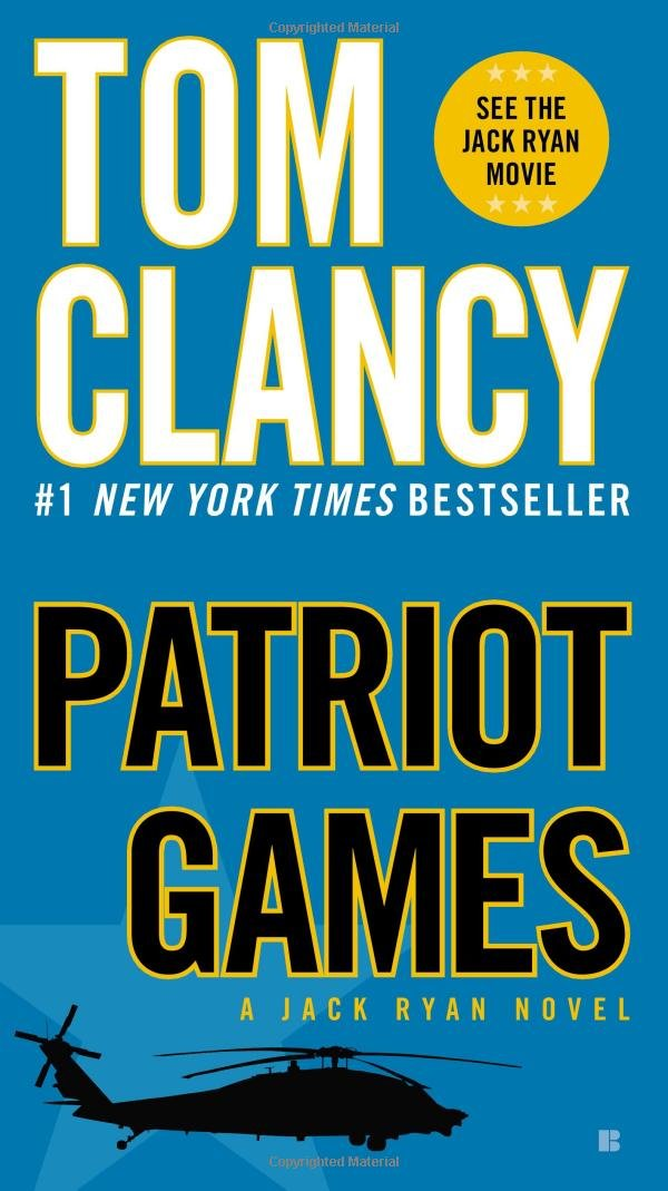 Book cover of Patriot Games