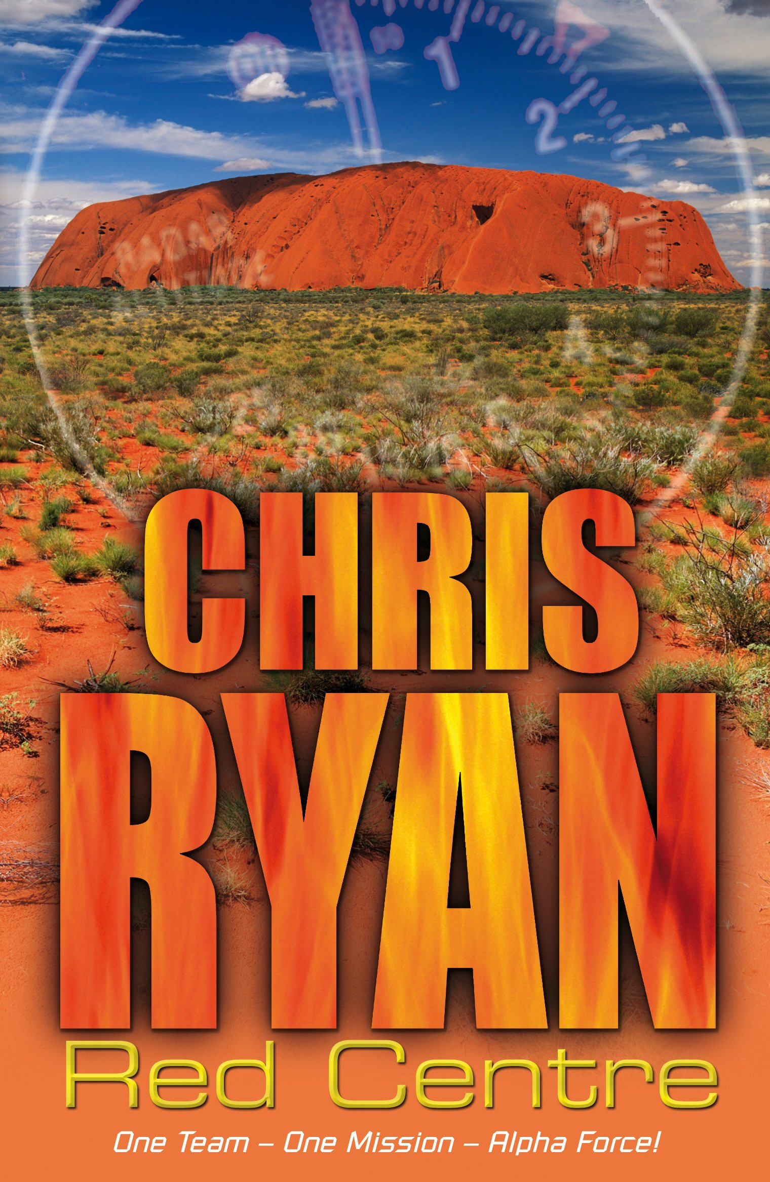 Book cover of Red Centre