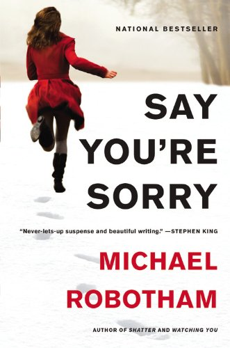 Book cover of Say You're Sorry