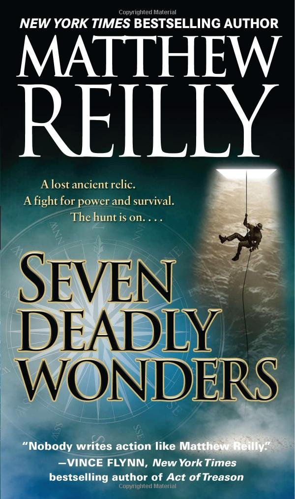 Book cover of Seven Ancient Wonders (Seven Deadly Wonders)