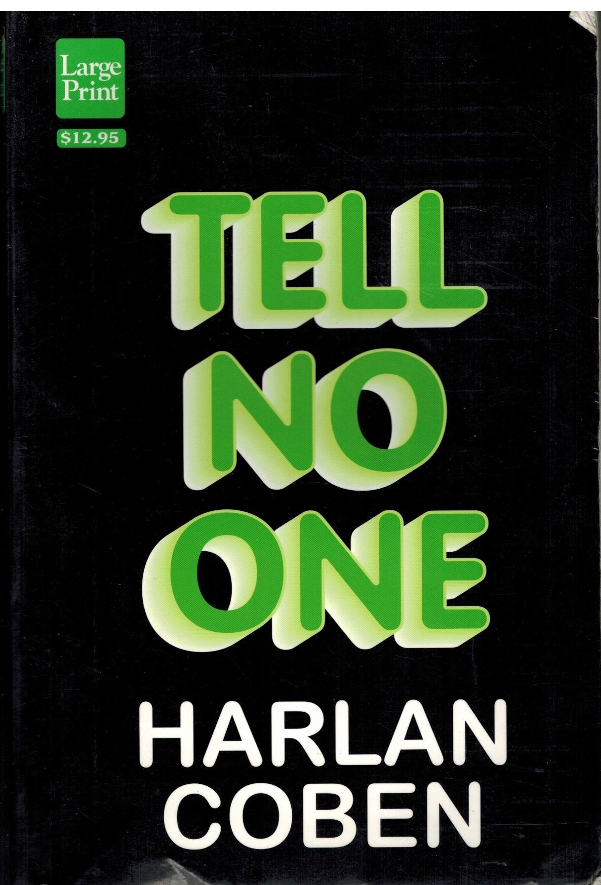 Book cover of Tell No One