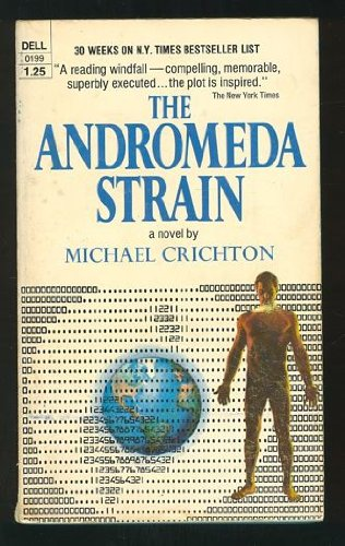 Book cover of The Andromeda Strain