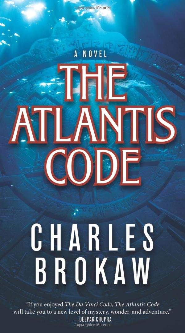 Book cover of The Atlantis Code