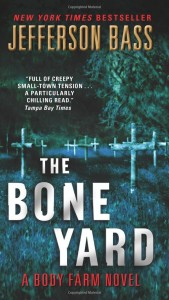 Book cover of The Bone Yard