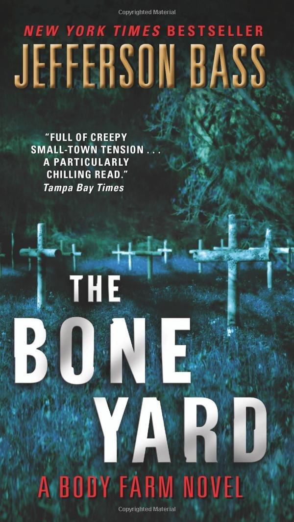 Book cover of The Bone Yard