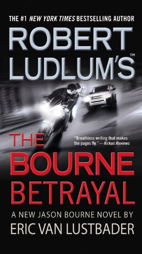 Book cover of The Bourne Betrayal