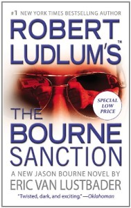 Book cover of The Bourne Sanction