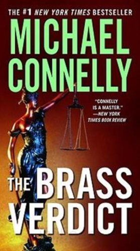 Book cover of The Brass Verdict
