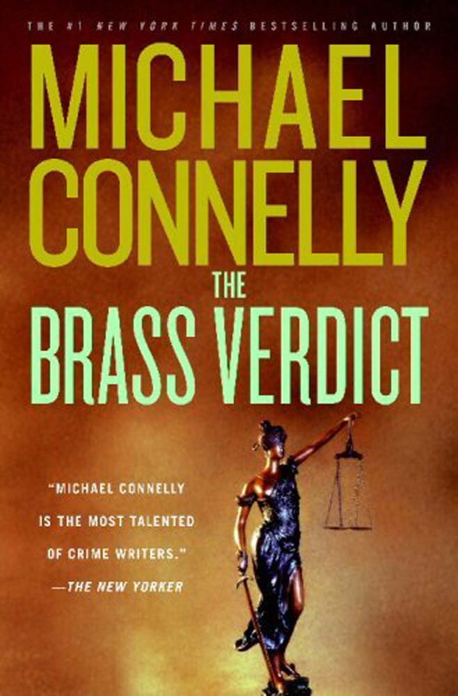 Book cover of The Brass Verdict_Mickey Haller