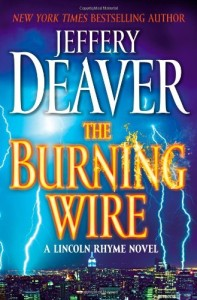 Book cover of The Burning Wire