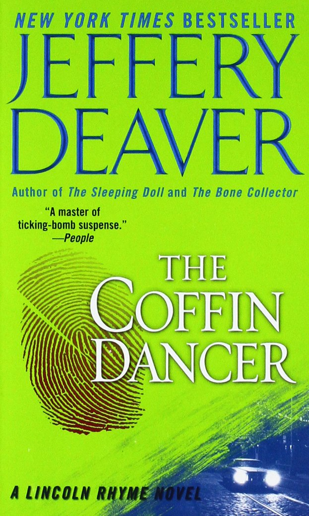 Book cover of The Coffin Dancer