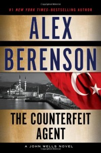 Book cover of The Counterfeit Agent