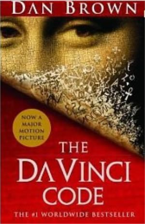 Book cover of The Da Vinci Code