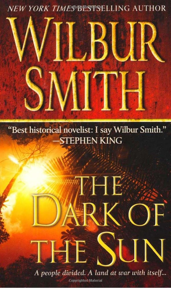 Book cover of The Dark of the Sun