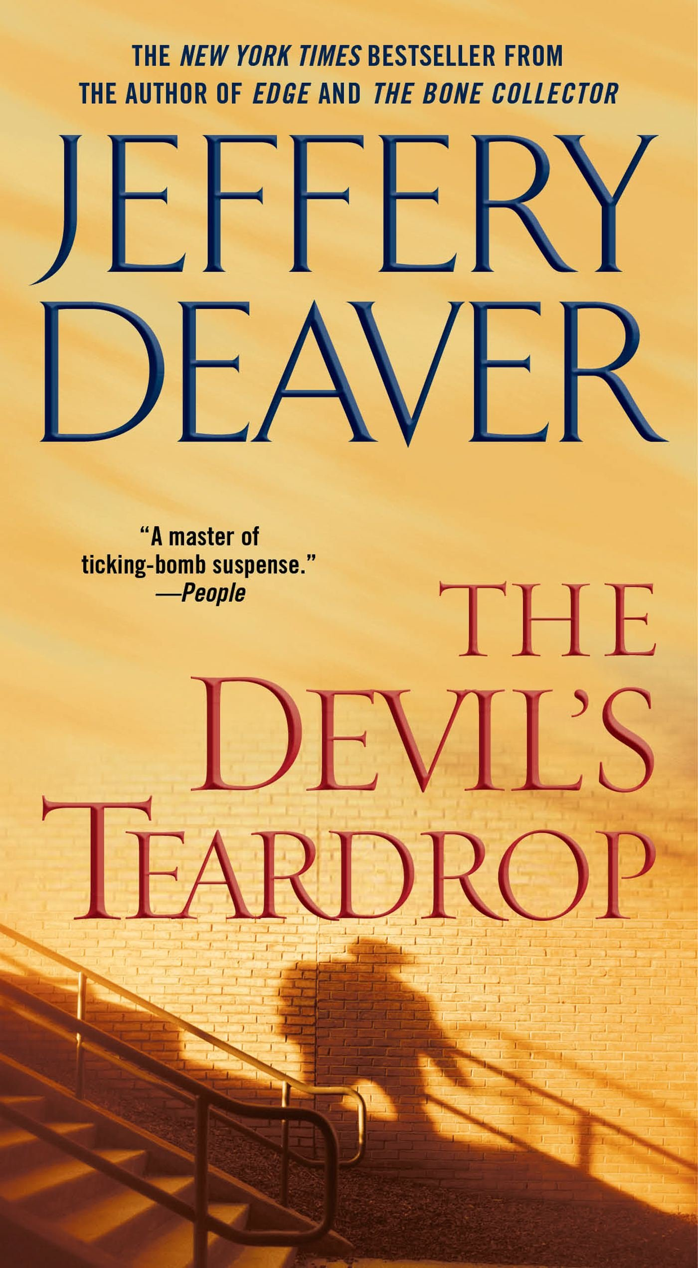 Book cover of The Devils Teardrop