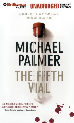 Book cover of The Fifth Vial