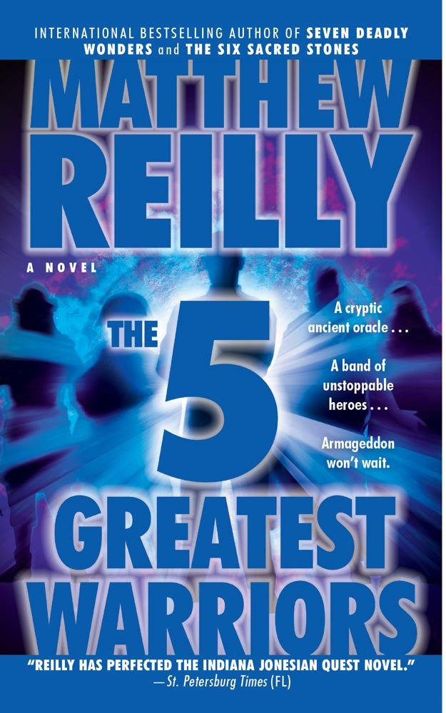 Book cover of The Five Greatest Warriors