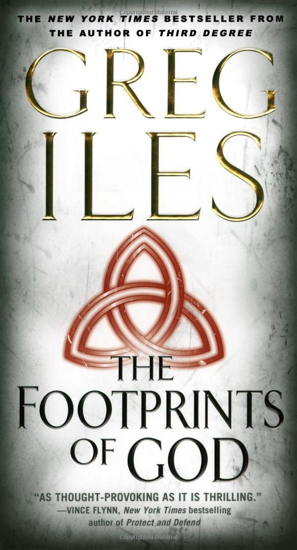 Book cover of The Footprints of God (Dark Matter)