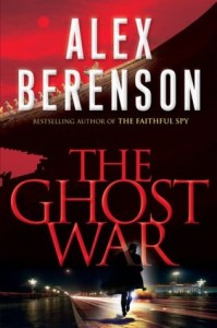 Book cover of The Ghost War (The Ghost Agent)