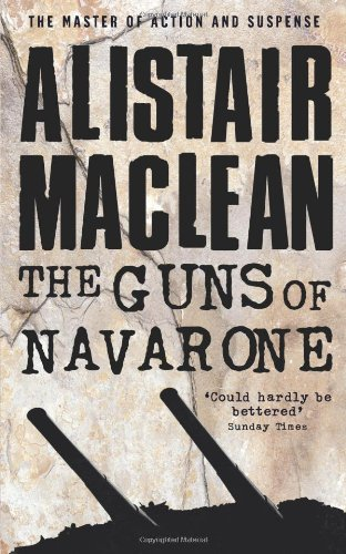 Book Cover of The Guns of Navarone