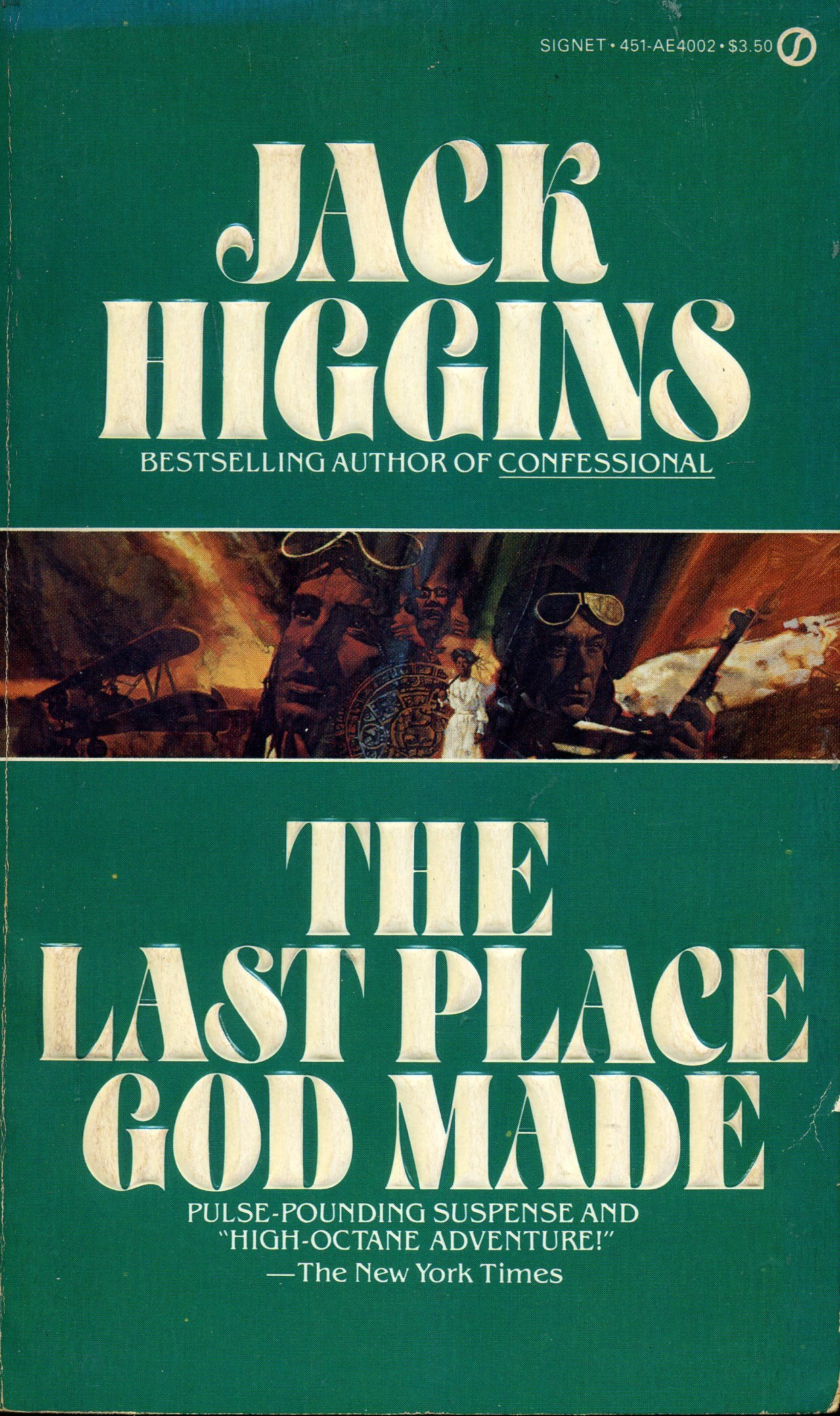 Book cover of The Last Place God Made