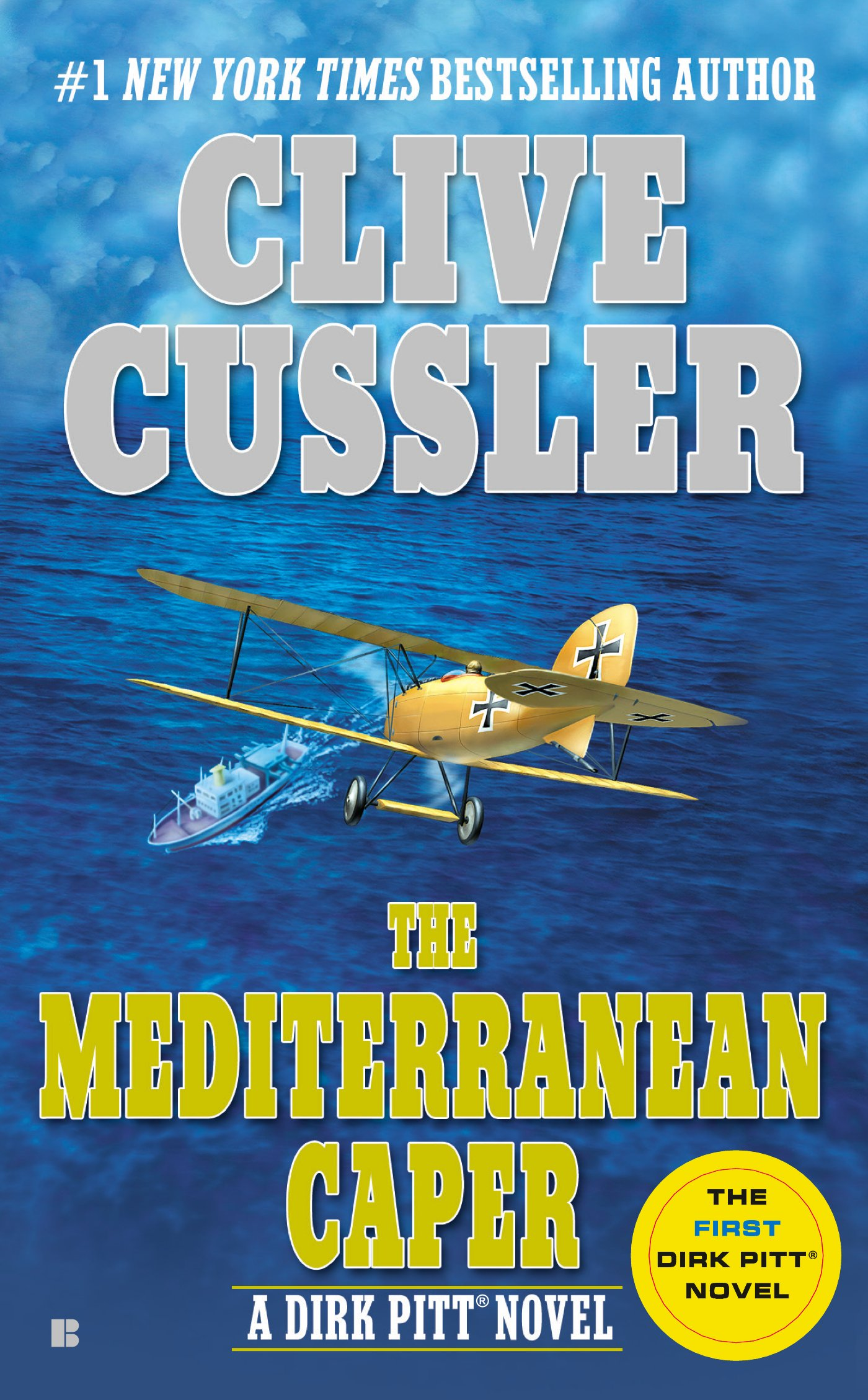 Book Cover of The Mediterranean Caper