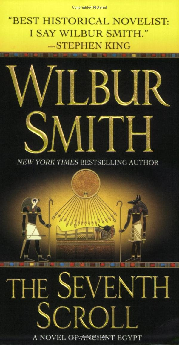 Book cover of The Seventh Scroll