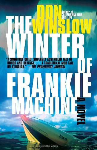 Book cover of The Winter of Frankie Machine