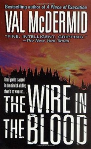 Book cover of The Wire in the Blood