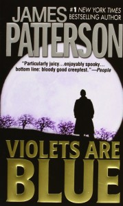 Book cover of Violets are Blue