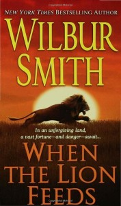 Book cover of When the Lion Feeds