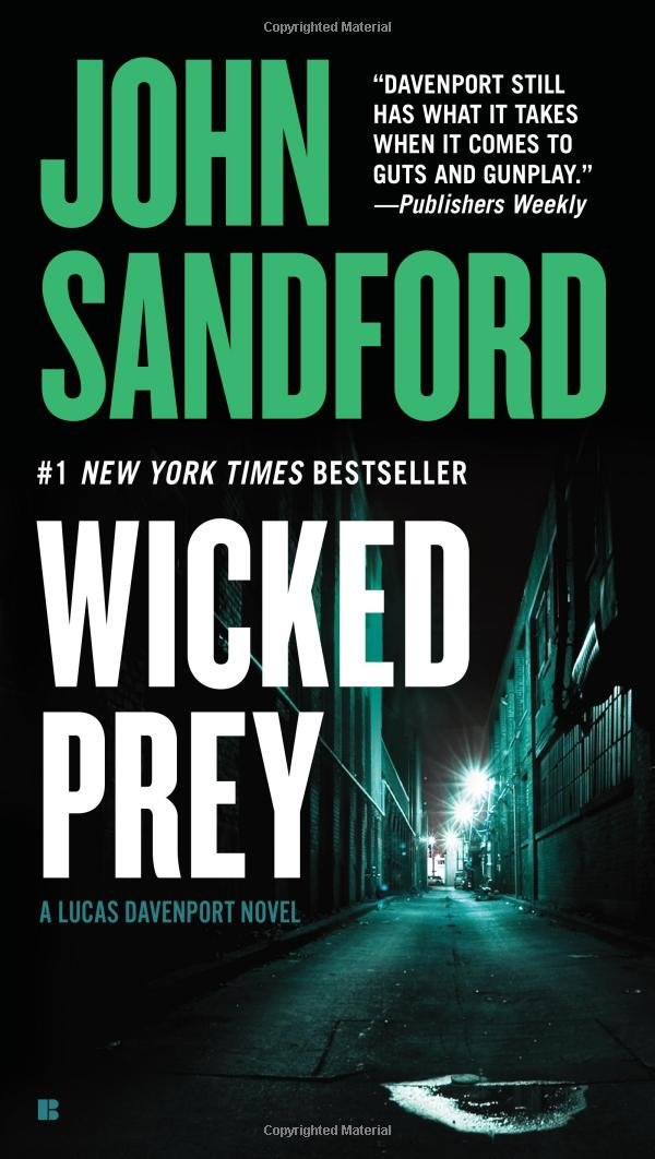 Book Cover of Wicked Prey