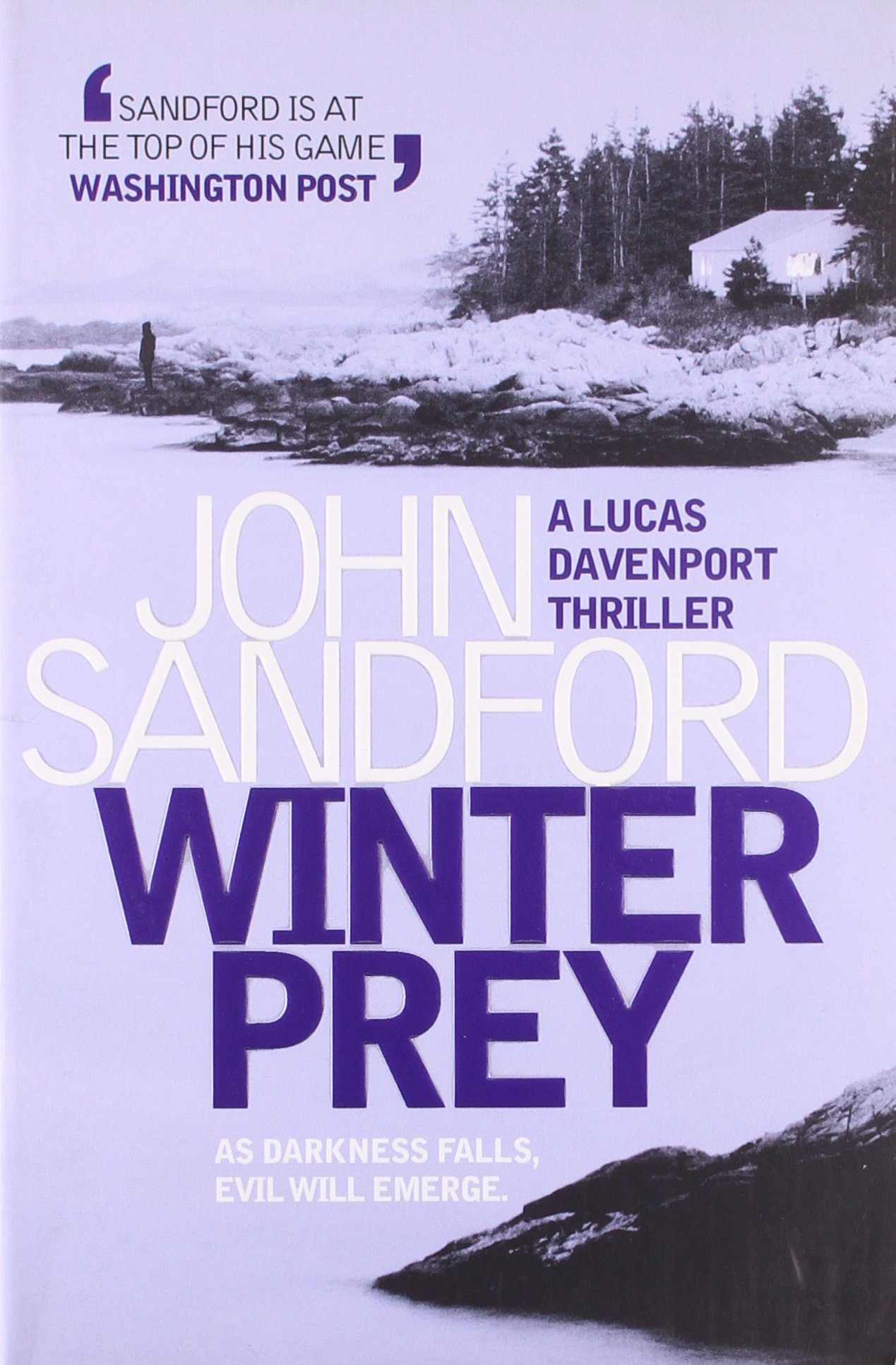 Book Cover of Winter Prey (The Iceman)
